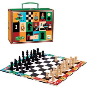Djeco Checkers and chess canada
