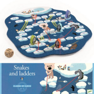 Djeco Snakes and Ladders Game canada