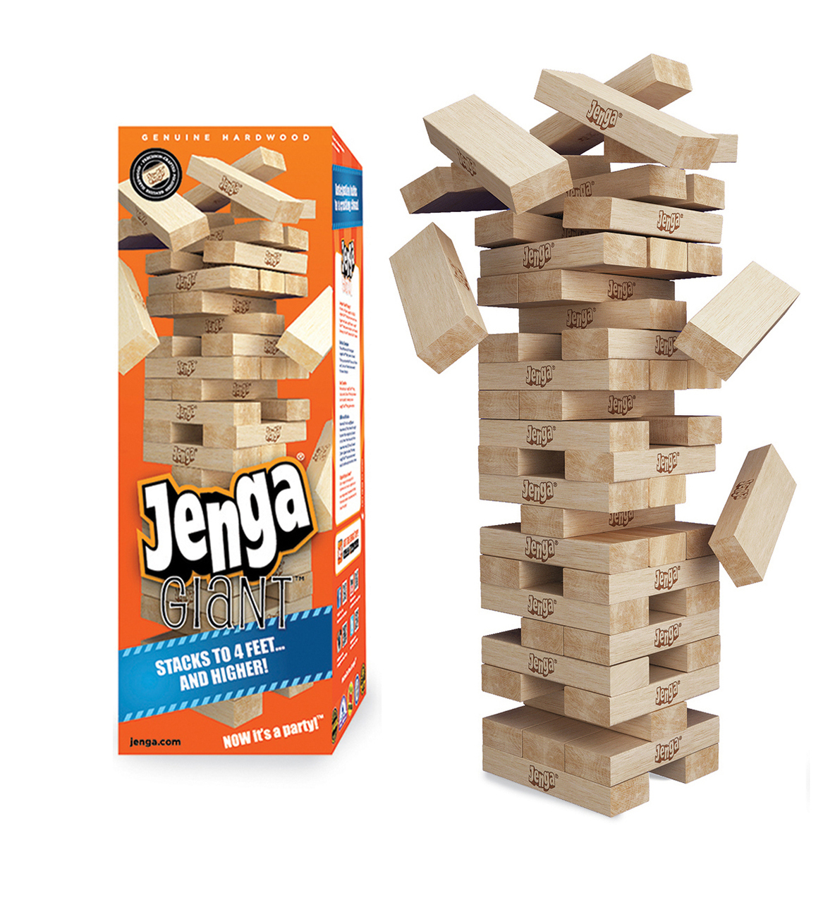 How many blocks are in a jenga game? - Answers