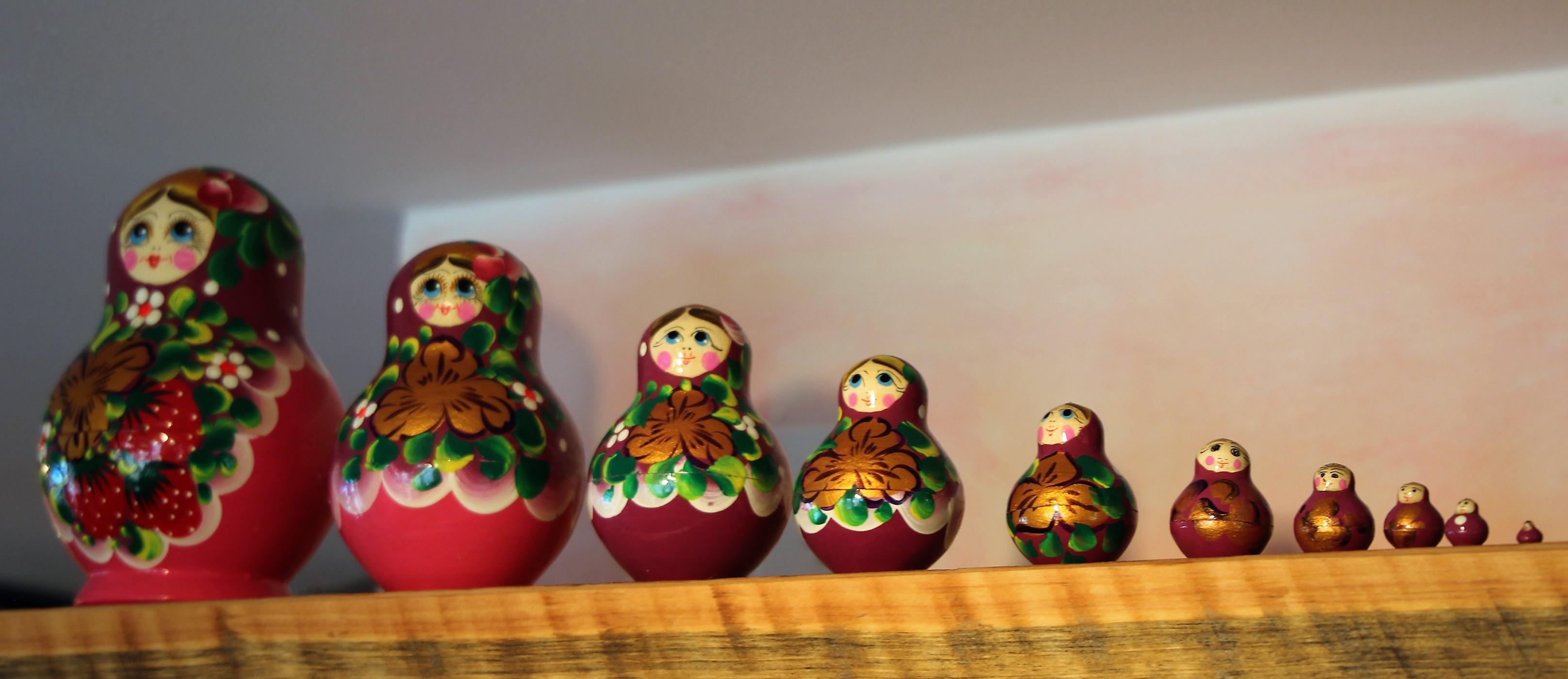animal russian dolls boutique pichenotte