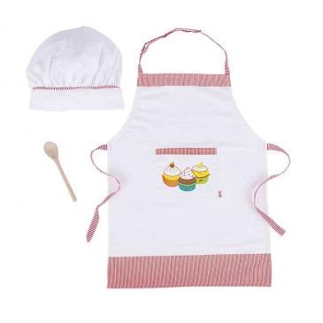 Tablier et toque de cuisinier | Boutique Pichenotte