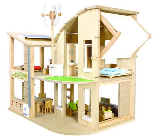 Maisons de poupées et châteaux